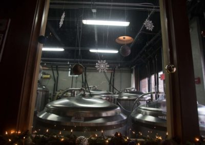 Looking into Bad Shepherd Brewery from inside Black Sheep