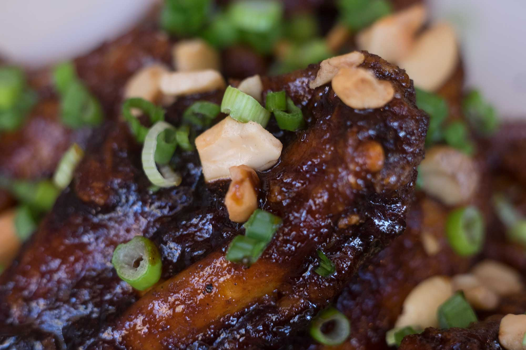 Kung Pao Wings